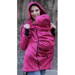 Kokadi Nosící kabát - Pink Uni